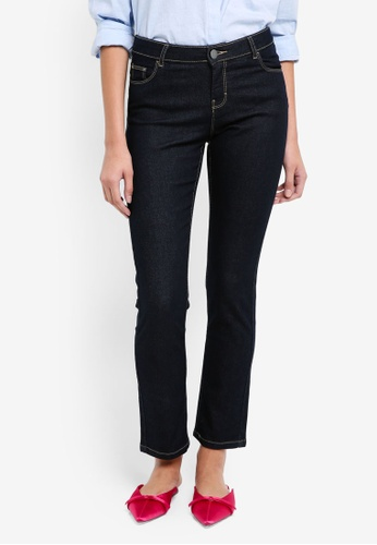 Dorothy Perkins blue S: Indigo Straight Leg Jeans 535F2AA3745623GS_1