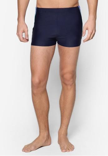 拼色四角泳褲, 服飾, 泳esprit香港分店裝