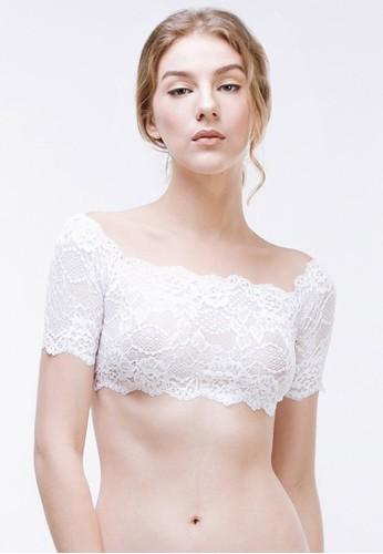 Raquel Lingerie white Tahlia Top White RA363US18ANPID_1
