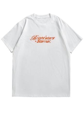 Twenty Eight Shoes Trend Printed Short T-shirt 5313S21 8F1C2AA6DB7994GS_1