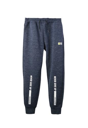 BSX blue BSX regular interlock knit jogger 4C5C3AA4BA050AGS_1