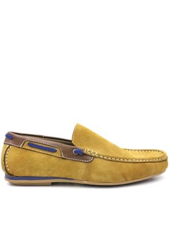 midzone yellow SCORPION Leather Slip On 9E1ABSHA5A24CBGS_1