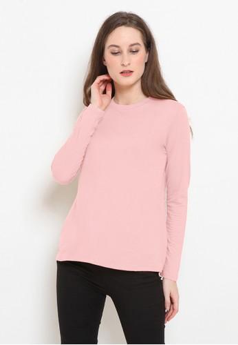 BASIC ONE pink Basic One Jeddah Top Nabila Pink E1718AA72A268FGS_1