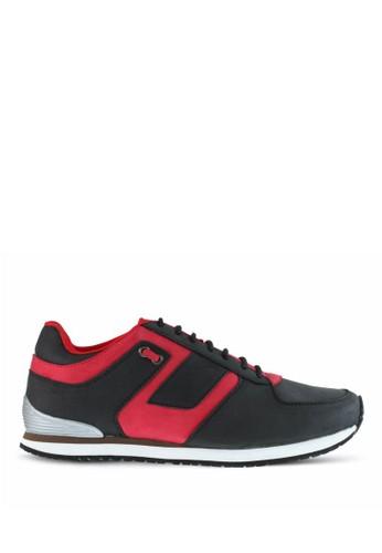 Sogno black Sepatu Sport Pria GF.8213 62D8DSH7D6FB9BGS_1