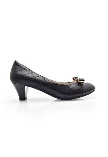 Elisa Litz black Boutens Low Heels (Black) EL365SH99ZIESG_1