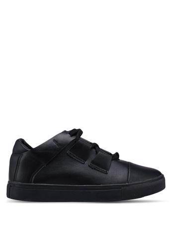 Something Borrowed 黑色 交叉繞帶運動鞋 5C1E3SH37C2574GS_1