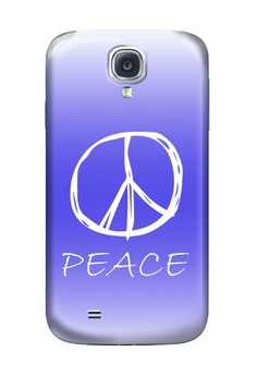 Peace Sign Hard Case for Samsung Galaxy S4