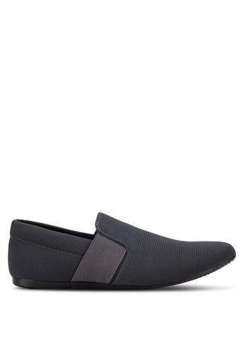 UniqTee grey Classic Textile Loafers UN097SH73RDMMY_1