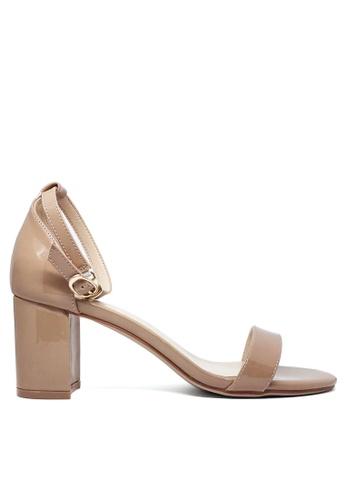 Twenty Eight Shoes 漆皮高踭涼鞋5691-3a 8F101SH18F253DGS_1
