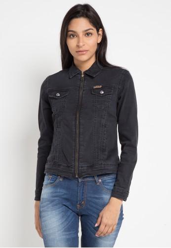 Lois Jeans black Denim Jacket 677DCAA7E17A75GS_1