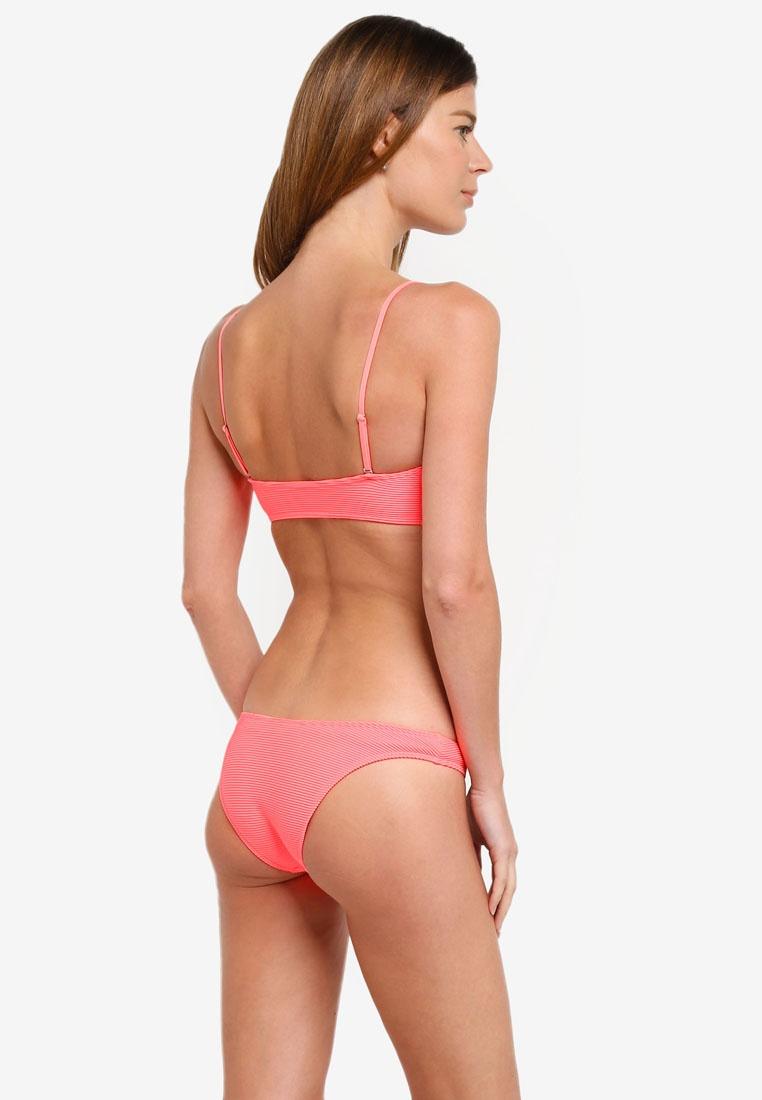 11d428964deb1 TOPSHOP High Neon Bottom Leg Coral Bikini rRrx7q-klausecares.com