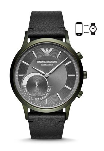 ARMANI black Emporio Armani Renato Smart Watch ART3021 1A11BAC04C9FD6GS_1