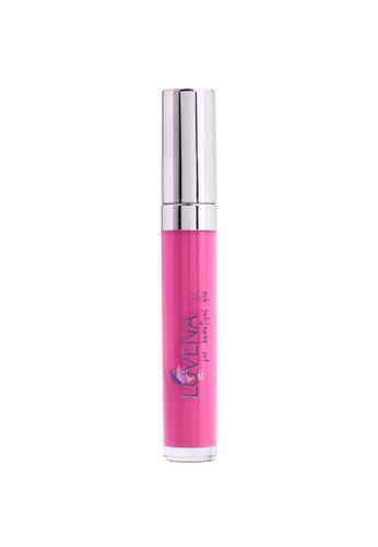 Luvena Glitz Cosmetic silver Luvena Glitz Lip Cream Bloomy Purple 8CC79BEA7DB969GS_1
