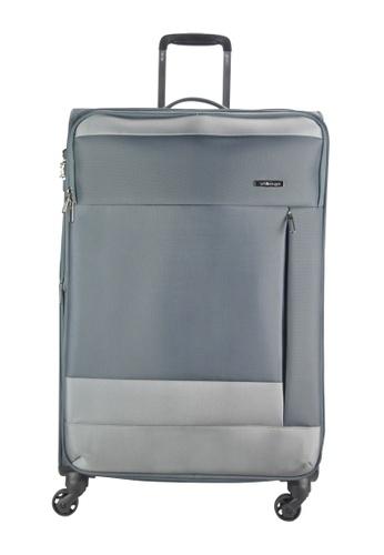 Airways grey Airways 4 Wheels Trolley 24 inch Soft Case Luggage  - ATS 7922 5E6E3ACA01825FGS_1