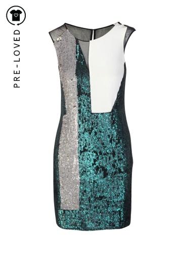 3.1 PHILLIP LIM green Pre-Loved 3.1 phillip lim Sequin Dress 70EAAAA3E2F9F8GS_1
