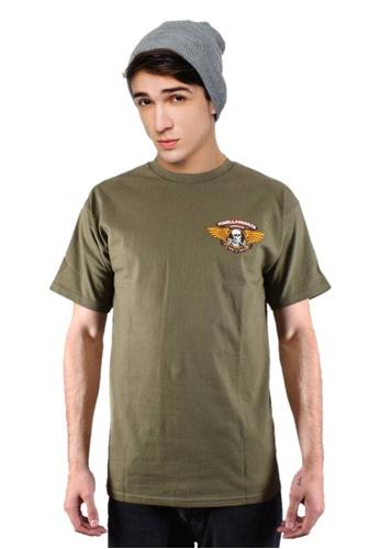 Powell Peralta green Powell Peralta Winged Ripper T-shirt Military Green E889EAA86383FCGS_1