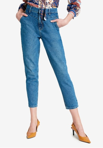 LC WAIKIKI blue Casual Mom Jeans 980FAAAC139620GS_1