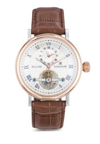 Beaufort 羅馬數字機芯鏤zalora鞋空手錶, 錶類, 飾品配件