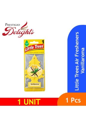 Prestigio Delights yellow Little Trees Air Fresheners Vanillaroma 7BBF7ES8B96099GS_1