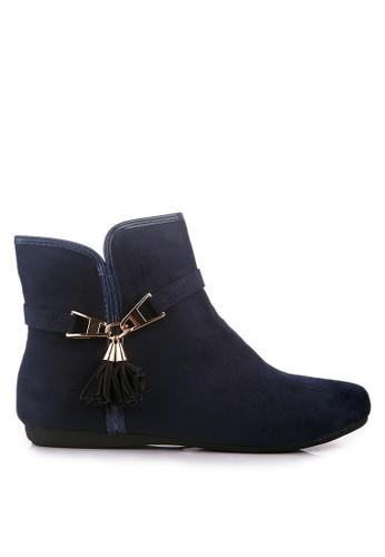 CLARETTE navy Clarette Boots Emmalee Navy CL076SH23LOEID_1