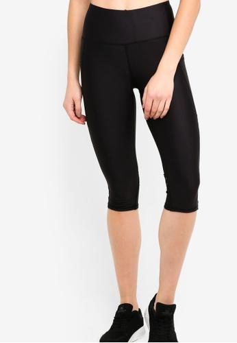 Cotton On Body black Filament Mesh Capri Tights B89D4AA89F9156GS_1