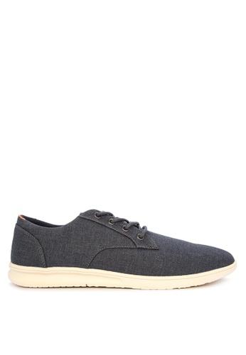 Springfield blue Zapaton Slin Sneakers B280FSH15109B6GS_1