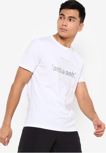 Anta white Aeh Short Sleeve Tee 366E7AA44147D5GS_1
