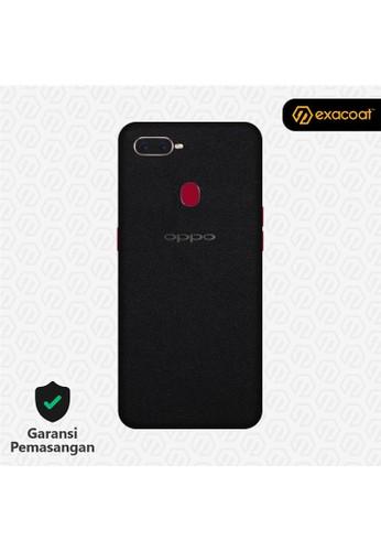 Exacoat Oppo F9 3M Skins Matte Black - Cut Only 7259DESAF6048FGS_1