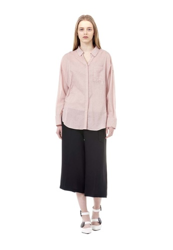 VOV(Voice of Voices) pink Pink Pigment Blouse 30707AA189FB71GS_1