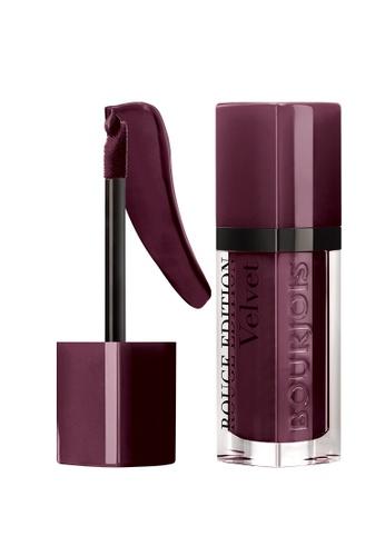 BOURJOIS red and purple Bourjois Rouge Edition Velvet Lipstick #25 Berry Chic (SEPT 21 onwards) D7D89BEB4EC978GS_1