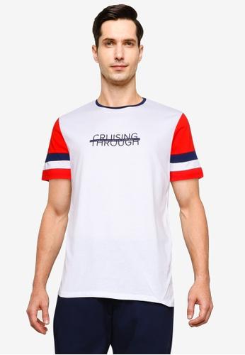 LC Waikiki white Crew Neck Short Sleeves T-shirt 632D6AAE9F9098GS_1