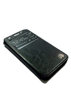 Leather Flip Stand Case view window Cover for Huawei Ascend G620