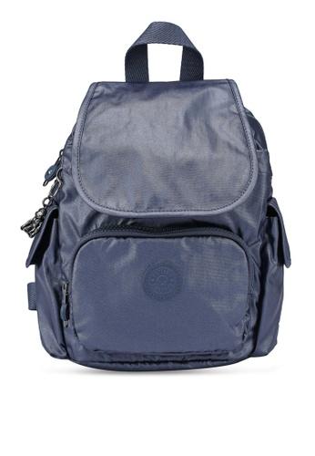 Kipling navy City Pack Mini Midnight Frost Backpack 90FA9AC601331BGS_1