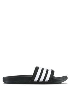 adidas adilette cloudfoam ultra 拖鞋