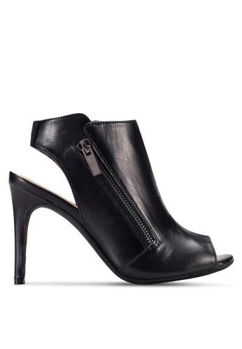 House of Avenues black Peep Toe Heels HO685SH56CCTMY_1