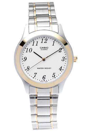 Casio silver Casio Watch Mtp-1128G-7Brdf CA347AC0W3IHID_1