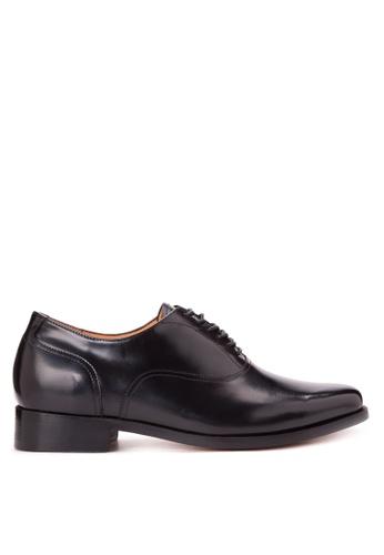 Bristol Shoes black Syklator Addison Black Oxford Shoes BR842SH28KDVPH_1