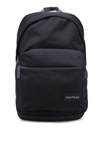 CRUMPLER black Safe Haven Laptop Backpack 76817AC272DEDFGS_1