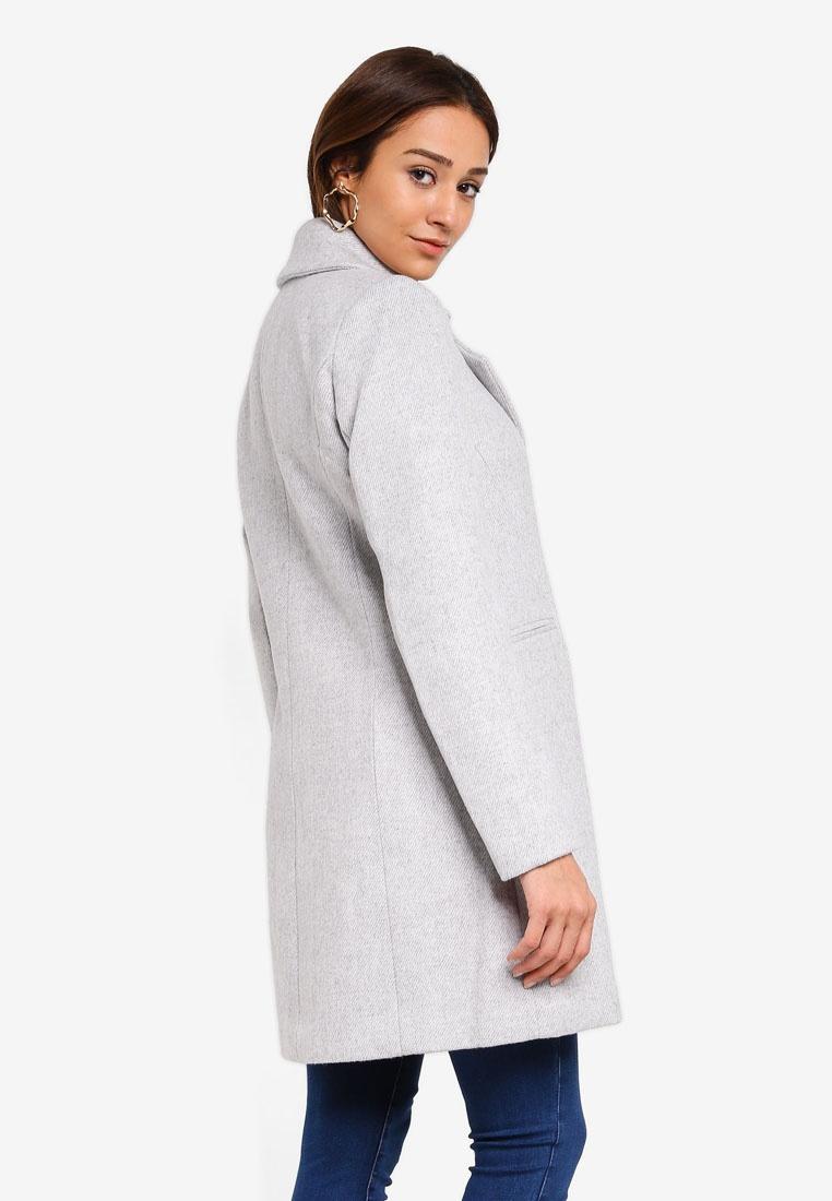 Grey Coat Duster New Elisa Forever xIq70v