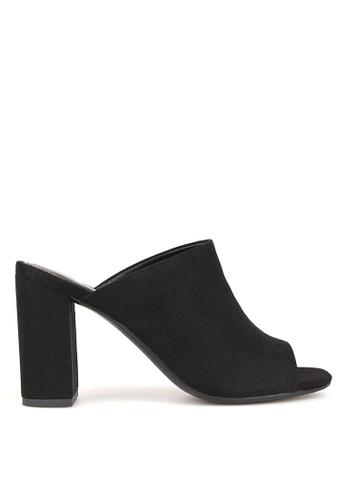 Betts black Mila Block Heel Mules 86C94SHD866A96GS_1