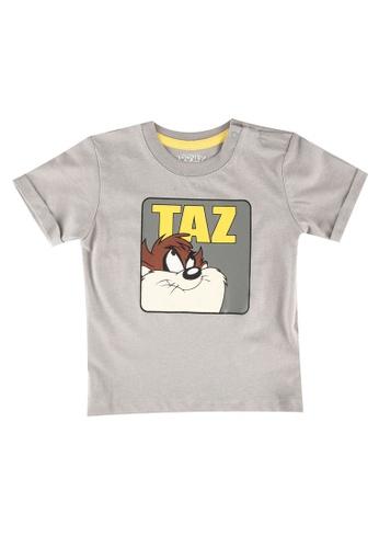 FOX Kids & Baby grey Baby Boys Looney Tunes Print Tee B9CD7KA1F1B6EAGS_1