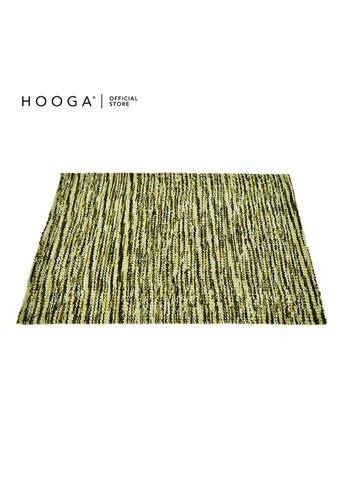 HOOGA green Hooga Rug Bendy 160X240cm C6992HLEE3AAFDGS_1