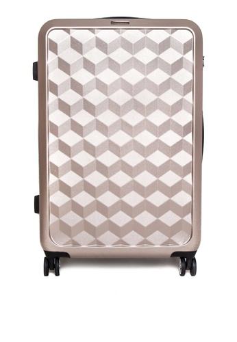 World Traveller gold Wallstreet Travel Bag WO744AC0K4CCPH_1