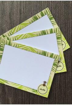 Palm Leaves Notecards 12pcs/set