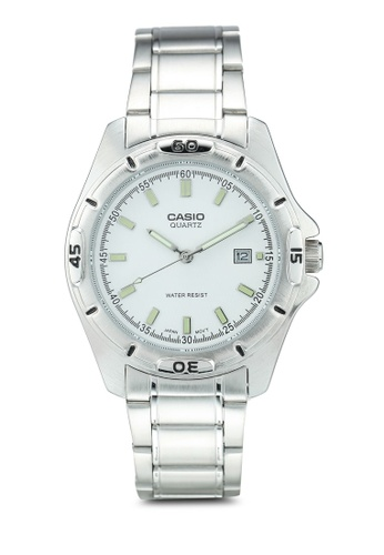 Casio silver Casio Watch MTP-1244D-7ADF 42EDAAC19C3F2AGS_1