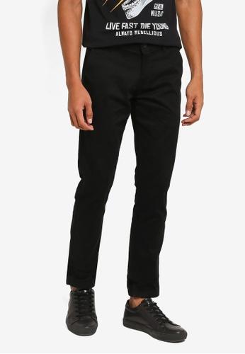 Fidelio 黑色 修身直筒長褲 E72EBAAC9C1A9AGS_1