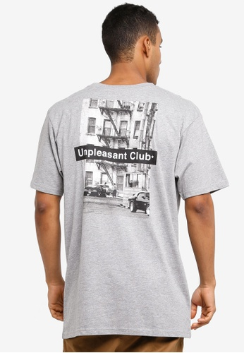 Cotton On 灰色 短袖印花T恤 4E443AAD1F7595GS_1