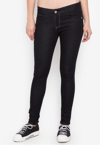 CHILI PEPPER black Fashion Skinny Black Jeans 53E27AAF348BBFGS_1