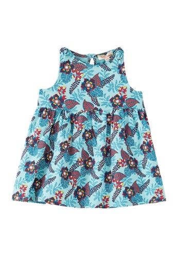Du Pareil Au Même (DPAM) blue Sleeveless Dress C3D44KA0212B22GS_1