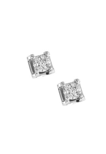 GOLDHEART gold GOLDHEART Earrings, Diamond White Gold 750 (E1945) 3A5B1ACA61E2CDGS_1